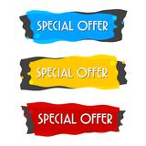 Special offer sale banner for your design ,discount clearance event festival Stock Photo