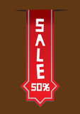 Special offer sale label Stock Image