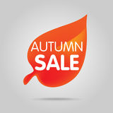 Special offer sale orange tag isolated vector illustration. Stock Image