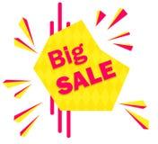 Special offer sale tag discount symbol, mega sale banner retail offer design sticker. Black friday sale banner. Royalty Free Stock Photography