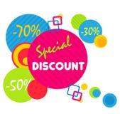 Special offer sale tag discount symbol, mega sale banner retail offer design sticker. Black friday sale banner. Stock Image
