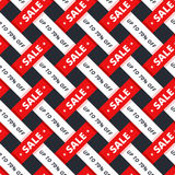 Special offer seamless pattern. Texture for sale promotion up to 70 percents off for shop and special sale campaign. For print gift box or pack paper or banner Stock Image