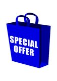 Special Offer Shopping Bag Stock Photo