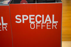 Special offer sign Royalty Free Stock Photos