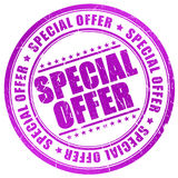 Special offer stamp Stock Images