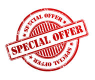 Special offer stamp Royalty Free Stock Photography
