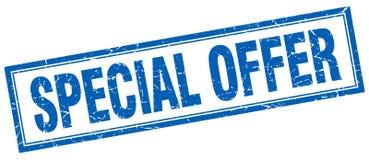 Special offer stamp. Special offer square grunge stamp. special offer sign. special offer royalty free illustration