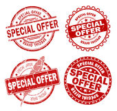 Special offer stamps Royalty Free Stock Photos
