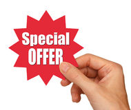 Special offer star Stock Photography