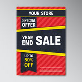 Special Offer Super Sale Poster Stock Image