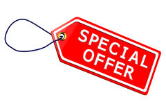 Special offer tag Stock Photo