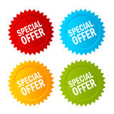 Special offer vector icon Royalty Free Stock Photography