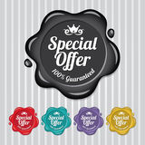 Special Offer Wax Seal, Wax Stamp Vintage Royalty Free Stock Photos