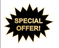 Special offer web icon / sticker Royalty Free Stock Image
