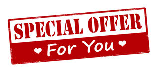 Special offer for you Stock Images