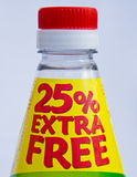 Special offers: 25% extra for free. Royalty Free Stock Photography