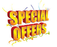 Free Special Offers 3D Golden Stock Photography - 7642352