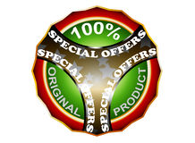 Special offers label Royalty Free Stock Images