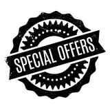Special Offers rubber stamp Stock Images