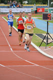 Special Olympics European Summer Games. Runners competing at 5000 m during the Special Olympics European Summer Games in Warsaw. Photo taken on: September 20 Stock Photography
