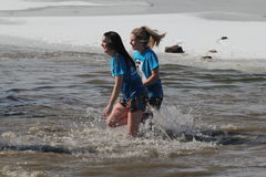 Special Olympics Nebraska Polar Plunge Stock Photos