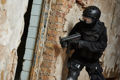 Special operations military forces Stock Photography
