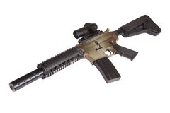 Special Operations rifle Royalty Free Stock Photography