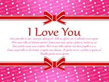 Special para su día de los amantes Foto de archivo libre de regalías