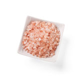 Special pink salt from the Himalayas Royalty Free Stock Photography