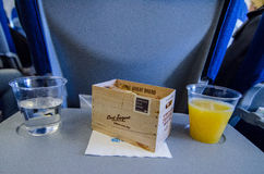 Special plane food Royalty Free Stock Photography