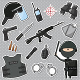 Special Police Officer Royalty Free Stock Photography