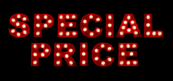 Special Price Stock Photos