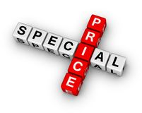 Special price Royalty Free Stock Photo