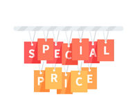 Special Price Badge Design Flat Stock Images