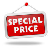 Special price concept illustration Stock Photos