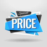 Special Price Geometric Banner Stock Photos