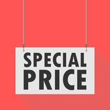 Special price Hanging Sign Stock Photos