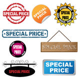 Special price icons stock photos