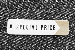 Special price label Royalty Free Stock Image