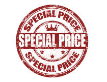 Special price stamp. Grunge rubber stamp with the text special price written inside the stamp Stock Images