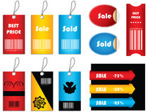 Special price tags Royalty Free Stock Photo