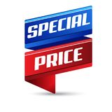 Special Price Vector Icon Banner Design. Template stock illustration