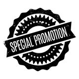 Special Promotion rubber stamp Stock Photography