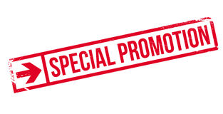 Special Promotion rubber stamp Stock Image