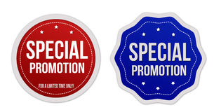 Special promotion stickers set Royalty Free Stock Photos