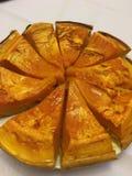 Special pumpkin pie royalty free stock photos