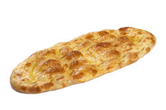 Special Ramadan pide with sesame Royalty Free Stock Photo