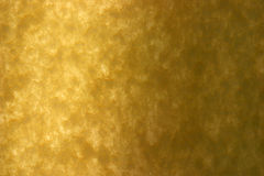 Special recycled yellow paper held lit up with sunlight Royalty Free Stock Photography