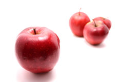 Special red apple Stock Images