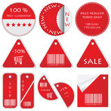 Special red tickets Royalty Free Stock Photos